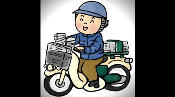 新聞配達に役に立つ便利な防寒用の道具