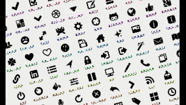 ワードプレスプラグイン「WP SVG Icons」でデコメの絵のようなアイコンフォントを作ろう!