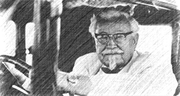 日本のクリスマスに人気のオリジナルチキンを作ったKFC(ケンタッキーフライドチキン)の創立者カーネル・サンダースの名言