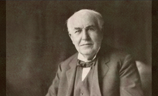 発明王という偉大な業績を残したトーマス・エジソンの名言