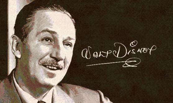 ミッキーの生みの親でありディズニーランドの創設者ウォルト・ディズニーの名言